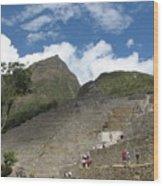 Macchu Picchu 7 Wood Print