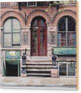 Macdougal Street Ale House Wood Print