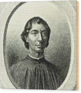 Machiavelli  Wood Print