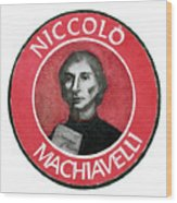 Machiavelli Wood Print