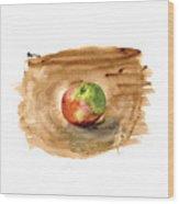 Macintosh Wood Print