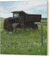 Mack Truck Wood Print