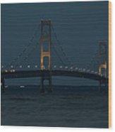 Mackinac Bridge - 1 Wood Print