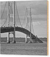 Mackinac Bridge 6111 Wood Print