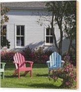 Mackinac Island Relaxation Wood Print