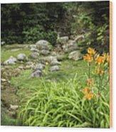 Mackinaw City Park Wood Print