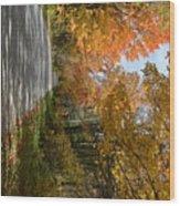 Mack's Mountain Road Wood Print