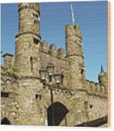 Macroom Castle County Cork Ireland Wood Print