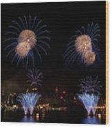 Macy's Fireworks IIi Wood Print