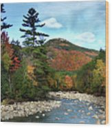 Mad River By Welch And Dickey  Wood Print