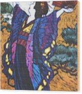 Madama Butterfly Wood Print