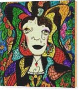 Madame Butterfly Wood Print