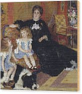 Madame Georges Charpentier Wood Print