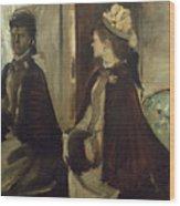 Madame Jeantaud In The Mirror Wood Print