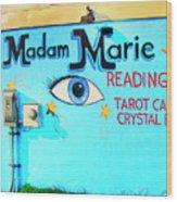 Madame Marie Wood Print