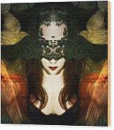 Madame Mayhem Wood Print