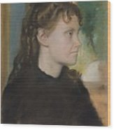 Madame Theodore Gobillard Yves Morisot, 1838-1893 , Edgar Degas French, Paris 1834-1917 Paris Wood Print