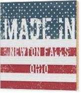 Made In Newton Falls, Ohio Wood Print