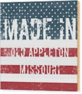 Made In Old Appleton, Missouri Wood Print
