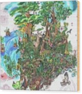 Madeline Island Wood Print