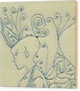 Madelyne  2 Wood Print