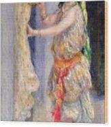 Mademoiselle Fleury In Algerian Costume Wood Print