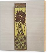 Madhubani Bookmark Wood Print