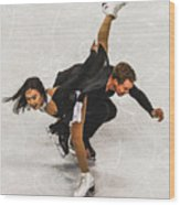 Madison Chock And Evan Bates Wood Print