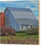 Madison County Barn Love Wood Print