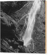 Madison Creek Falls Three Wood Print