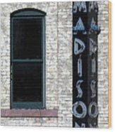 Madison Wood Print