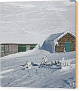 Madison Spring Hut- White Mountains New Hampshire Wood Print
