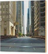 Madison Street Bridge - 4 Wood Print