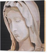 Madonna By Michaelangelo Wood Print