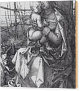 Madonna By The Tree 1513 Wood Print