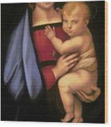 Madonna Del Granduca Wood Print