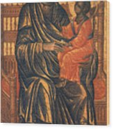 Madonna Icon, 13th Century Wood Print