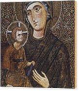 Madonna Icon Wood Print