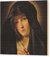 Madonna Wood Print by Il Sassoferrato