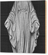Madonna Of White Plains Wood Print by Robert Ullmann