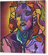 Madonna The Rebel Wood Print