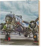 Madras Maiden B-17 Bomber Wood Print