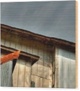 Madsen Grain Co Elevator Wood Print