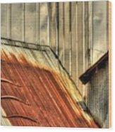Madsen Grain Roof Wood Print
