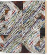 Mag 6 Abstract Painting Wood Print