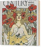 Magazine: Century, 1896 Wood Print