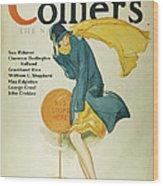 Magazine Cover, 1930 Wood Print