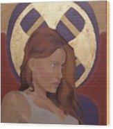 Magdalene Wood Print