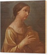Magdalene With The Jar Of Ointment Wood Print
