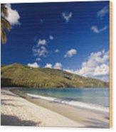 Magens Bay Morning St Thomas Us Virgin Islands Wood Print
